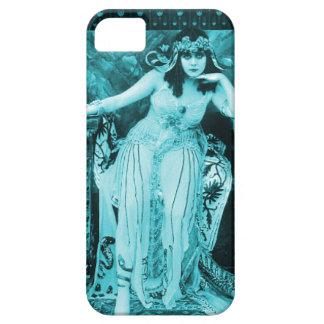 Theda Bara Cleopatra iPhone 5 Case Aqua Black