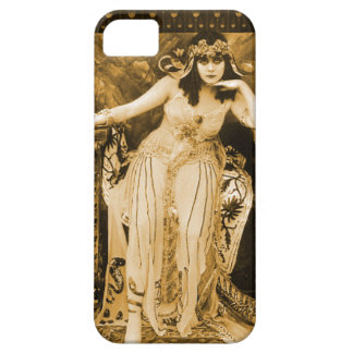 Theda Bara Cleopatra iPhone 5 Case Sepia Black