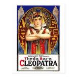 Theda Bara como Cleopatra Postal