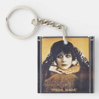 Theda Bara Keychain