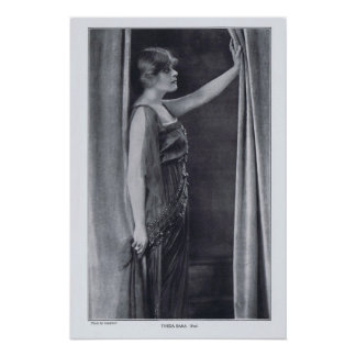 Theda Bara Rotrogravure 1916 Print