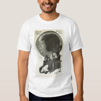 Theda Bara with Russian Wolfhound 1917 photo Shirt