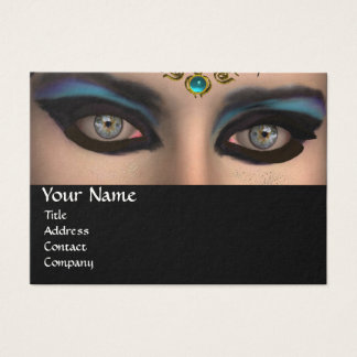 THEDA ,Beauty,Salon,Spa,Makeup Artist Blue ,Black Business Card
