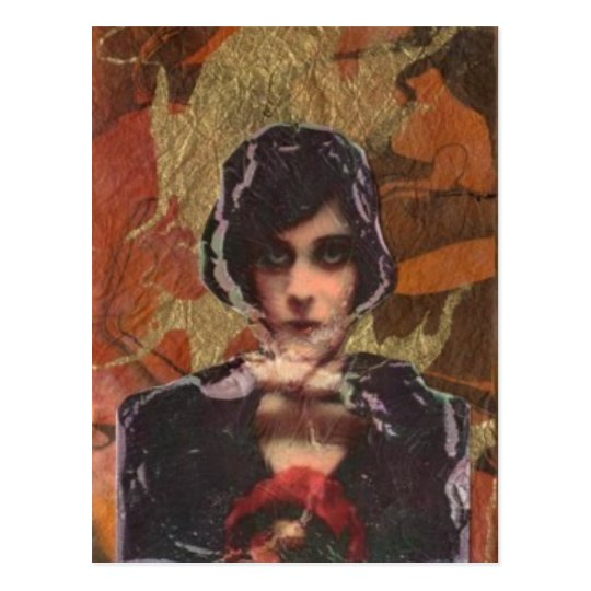 Theda Postcard