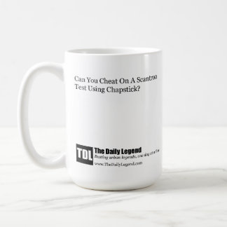 "TheDailyLegend ""Scantron Cheating"" Mug"