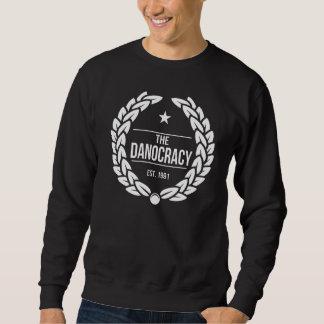 TheDanocracy Caesar BLACK Pull Over Sweatshirt