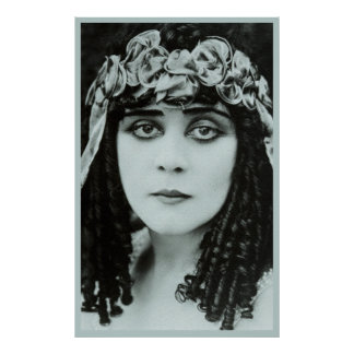 Theda's Eyes Poster