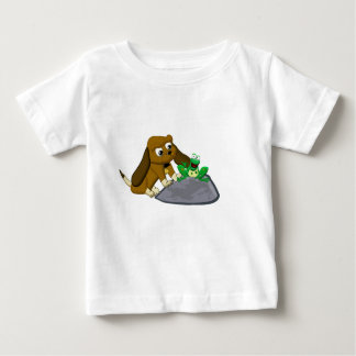 TheDogAndTheFrog.com Cartoon Beagle Frog Story Shirt