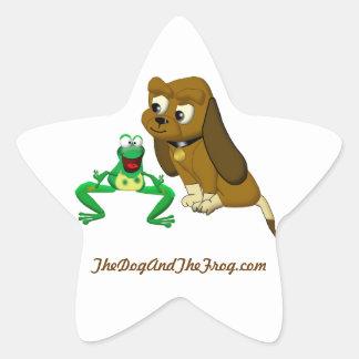 TheDogAndTheFrog.com Cartoon Story Book Gifts Star Sticker