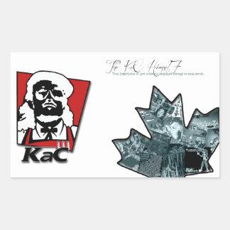 Thee Importance + KaC KFC Stickers (larger)