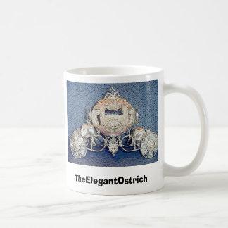 TheElegantOstrich Classic White Coffee Mug