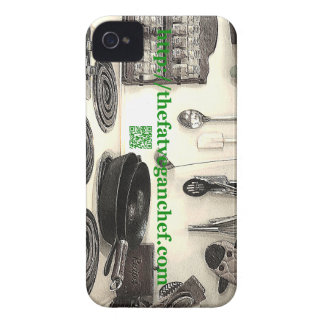 thefatveganchef.com product iPhone 4 covers
