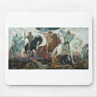 TheFour Horsemen of Apocalypse by Viktor Vasnetsov Mouse Pad