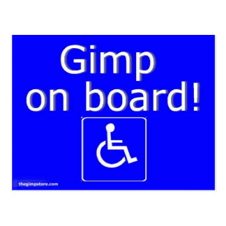 thegimpstore.com post card
