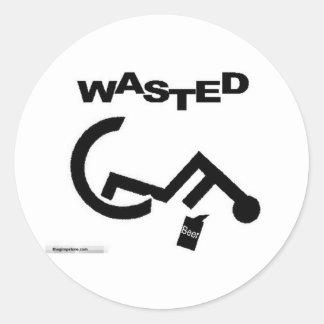 thegimpstore.com round sticker