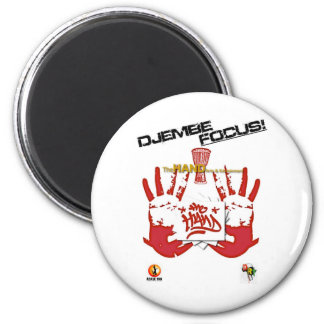 TheHAND Products.jpeg 2 Inch Round Magnet