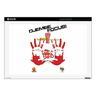 """TheHAND Products.jpeg 17"""" Laptop Decal"""