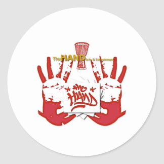 TheHAND Products Classic Round Sticker