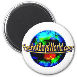 TheHotBoysWorld.com Imán Redondo 5 Cm