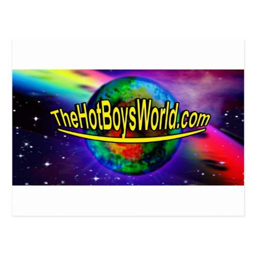 TheHotBoysWorld Tarjeta Postal
