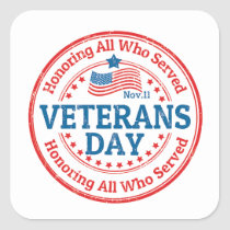 Their Day Veterans Day Stickers