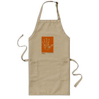 """""""Their Lives Are In Our Hands"""" by Michelle Cox Long Apron"""