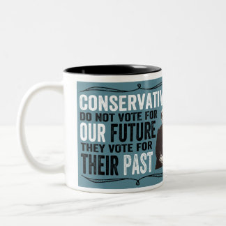 Their Past Two-Tone Coffee Mug