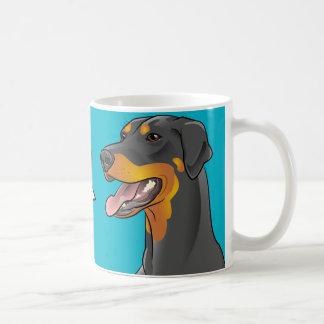 Their! Pop Art Grammar Police Awareness Dog mug