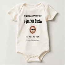 Theirs always one Phantom Farter (Baby) Baby Bodysuit