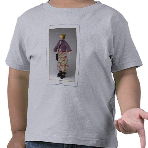 Thekla - camiseta del niño - ceniza