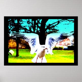 TheLeechDesign. Bird Poster.2013 Poster