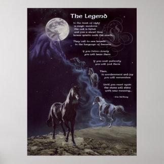 TheLegend de caballos Poster