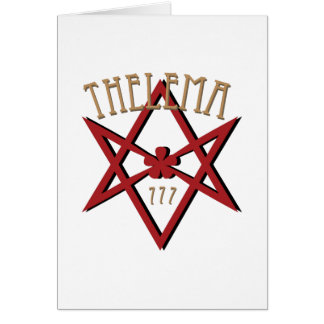 Thelema 777   card