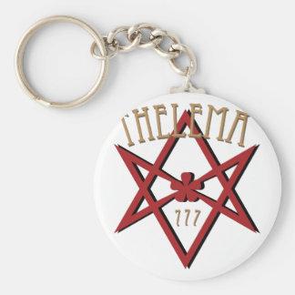 Thelema 777  keychain