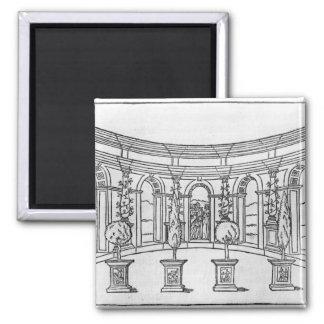 Theleme Abbey Fridge Magnets