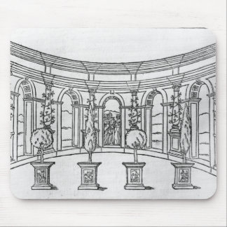 Theleme Abbey Mouse Pad