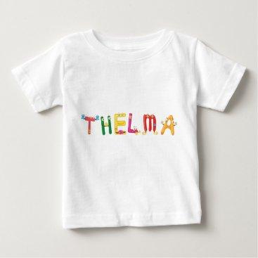 Beach Themed Thelma Baby T-Shirt