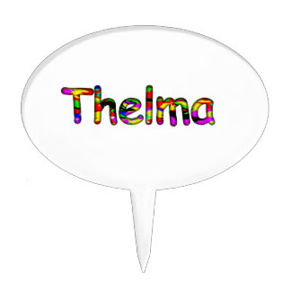 Thelma Cake Topper