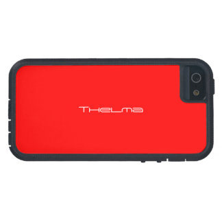 Thelma iphone 5 red case