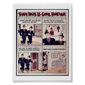 Them Days Is Gone Forever Posters