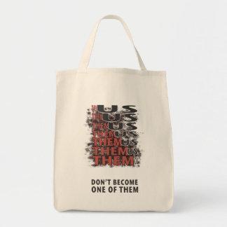 Them Versus Us - Zombies! Tote Bag
