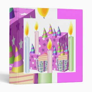 Theme Celebrations :  Enjoy n Share Joy 3 Ring Binder