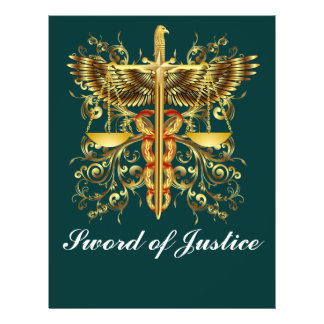Theme Event  Law  Sword of Justice Flyer