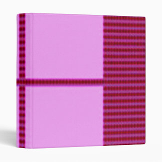 Theme Four Square - Satin Silk Sleek Designs 3 Ring Binders