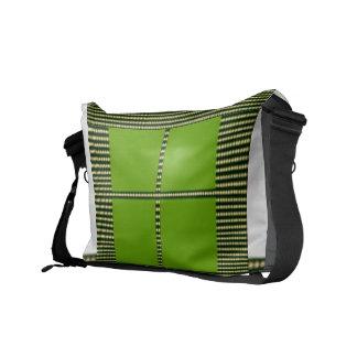 Theme Four Square - Satin Silk Sleek Designs Courier Bag