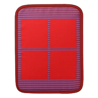 Theme Four Square - Satin Silk Sleek Designs Sleeve For iPads