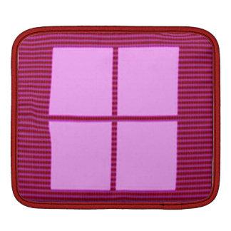 Theme Four Square - Satin Silk Sleek Designs iPad Sleeves