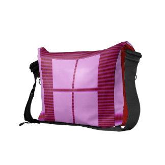 Theme Four Square - Satin Silk Sleek Designs Commuter Bag
