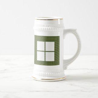 Theme Four Square - Satin Silk Sleek Designs Mugs