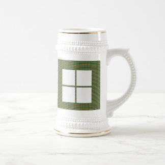 Theme Four Square - Satin Silk Sleek Designs Coffee Mug
